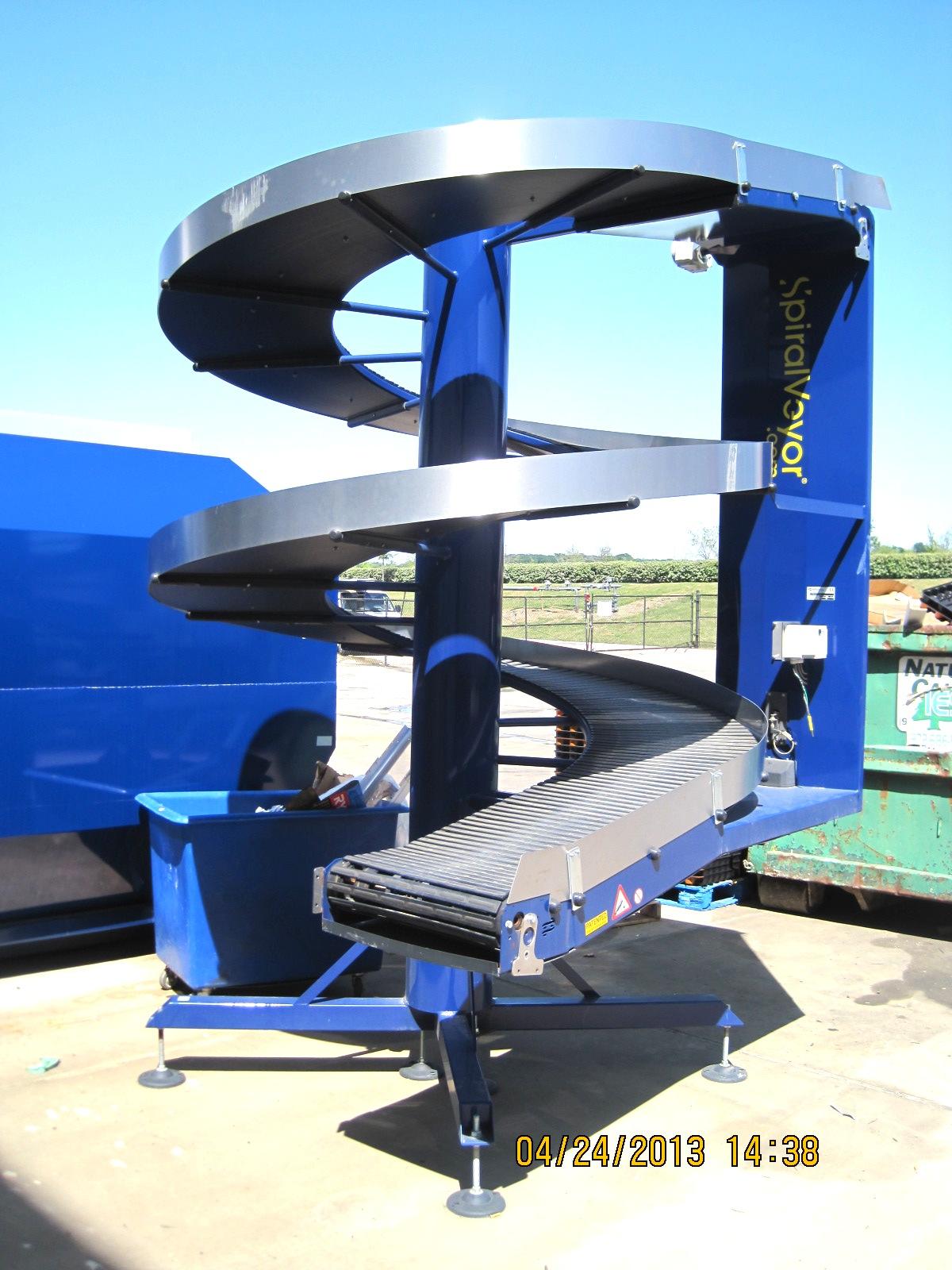 AmbaFlex Spiral Case Conveyor