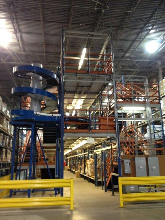 Ryson Spiral Case Elevator Conveyor United Food Amp Beverage