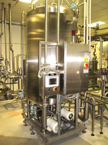 haselden product recovery system for syrup batching united food