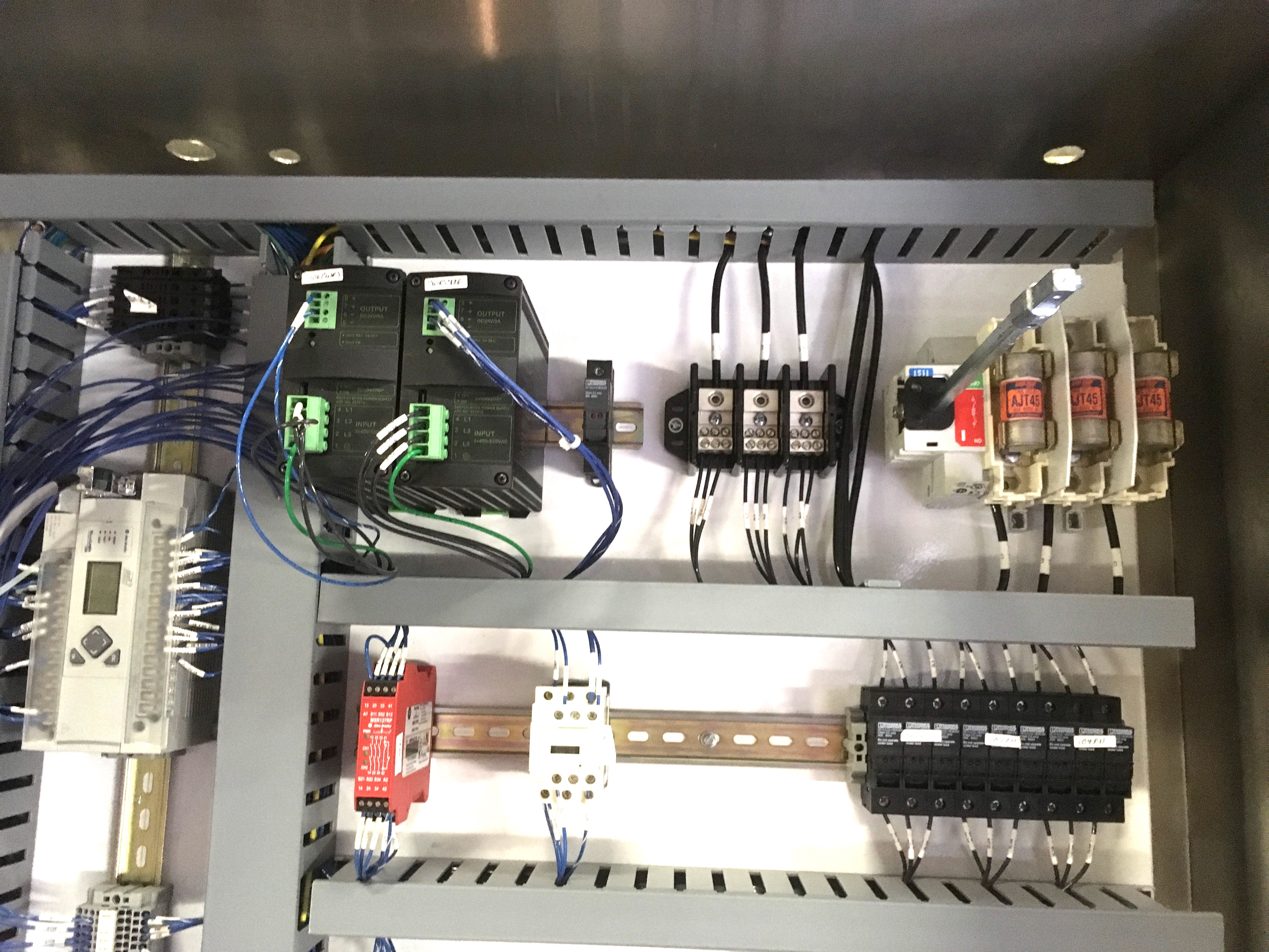 Stainless Steel Control Panel with Allen Bradley Micrologix 1400 Processor : micrologix 1400 wiring - yogabreezes.com