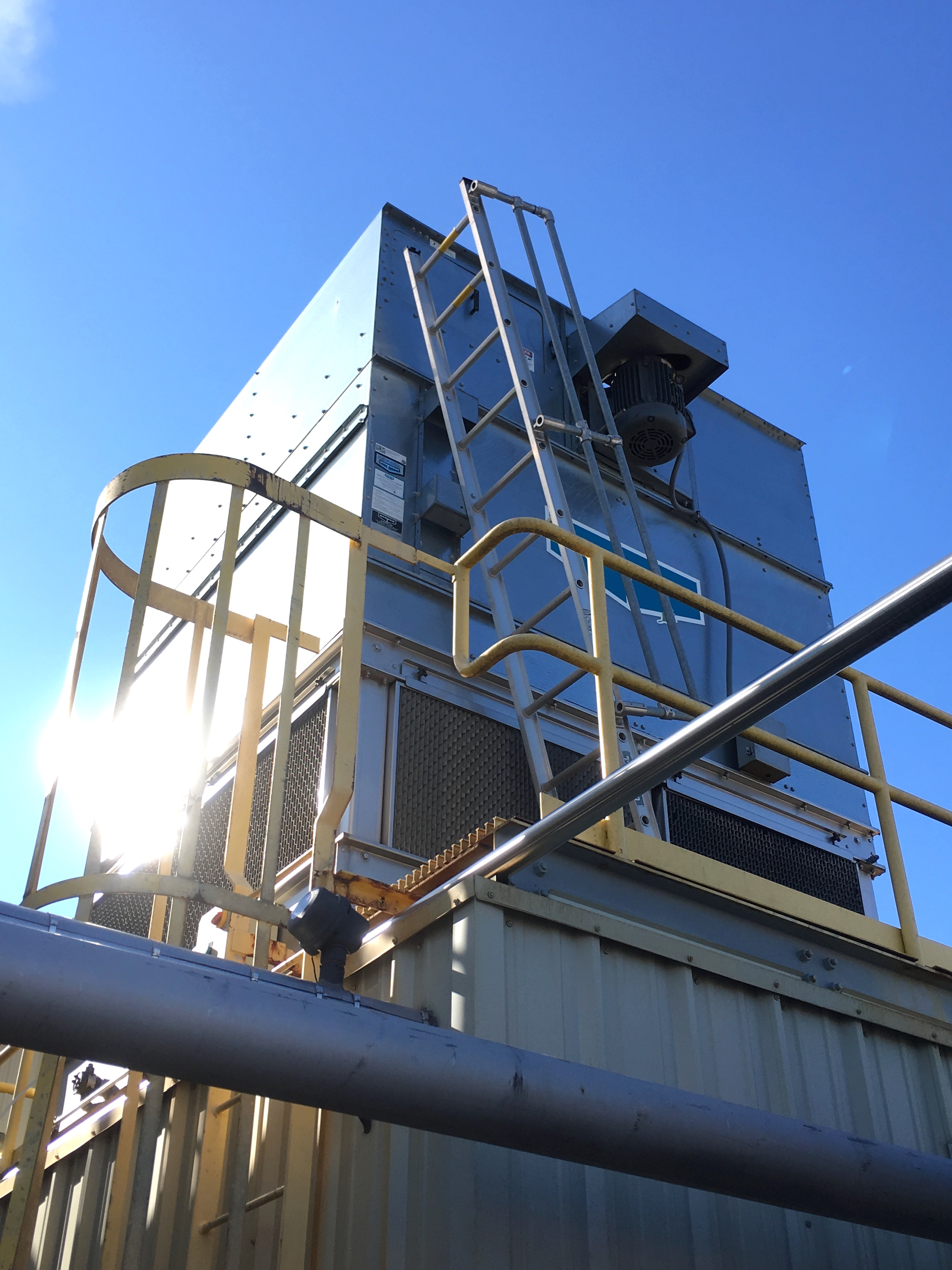 Evapco Model At 19 89 Cooling Tower New 2013 United