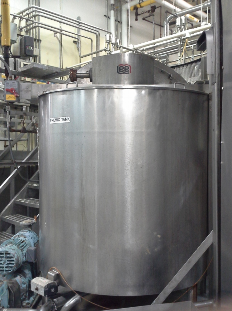 Lee 750 Gallon Steam Jacketed Mixing Kettle United Food